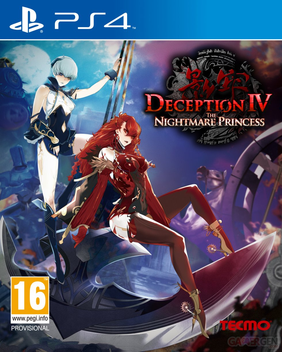 Deception IV The Nightmare Princess jaquette ps4