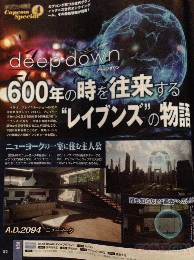 Deep Down scan Famitsu