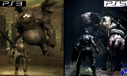 Demon's Souls comparaison head