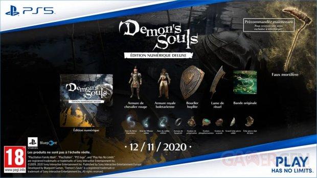 Demon's Souls édition numérique Deluxe 29 09 2020