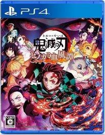 Demon Slayer Kimetsu no Yaiba The Hinokami Chronicles jaquette PS4 21 06 2021