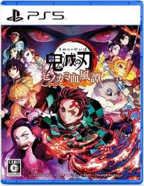 Demon Slayer Kimetsu no Yaiba The Hinokami Chronicles jaquette PS5 21 06 2021