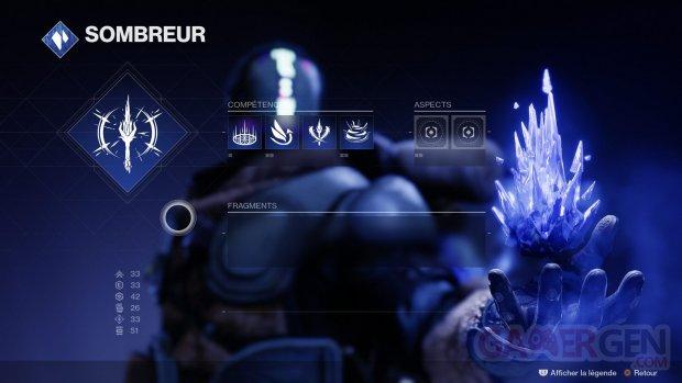 Destiny 2 Au delà de la Lumière Arcaniste Sombreur 05 01 09 2020