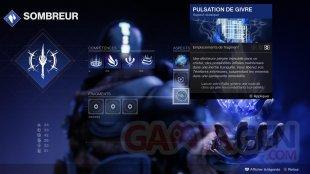 Destiny 2 Au delà de la Lumière Arcaniste Sombreur 06 01 09 2020