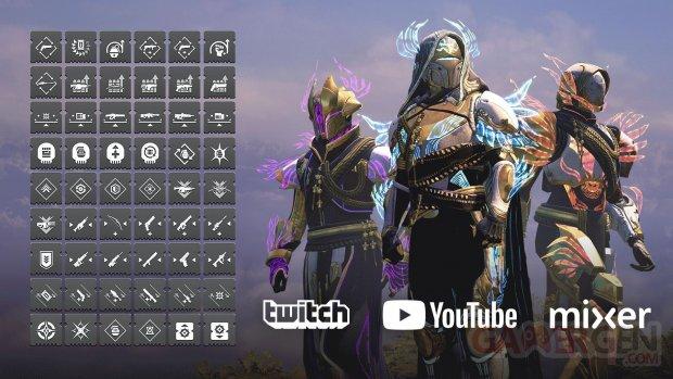 Destiny 2 Bastion des Ombres présentation armures 14 08 2019