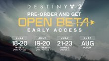 Destiny 2 dates beta