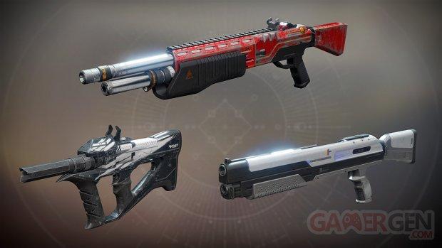 Destiny 2 Joutes Factions 200318 engrammes armes
