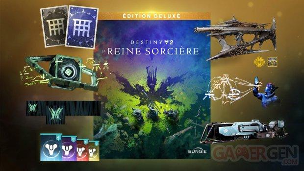 Destiny 2 La Reine Sorcière édition Deluxe 01 25 08 2021