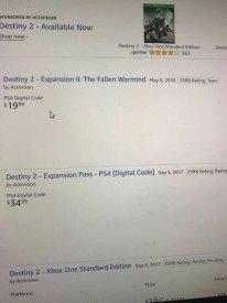 Destiny 2 leak Amazon The Fallen Warmind 09 03 2018