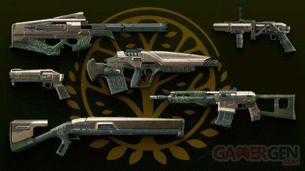 Destiny 2 loot armes Bannière de Fer 10 04 2018