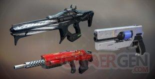 Destiny 2 nouvelles armes factions 15 02 2018