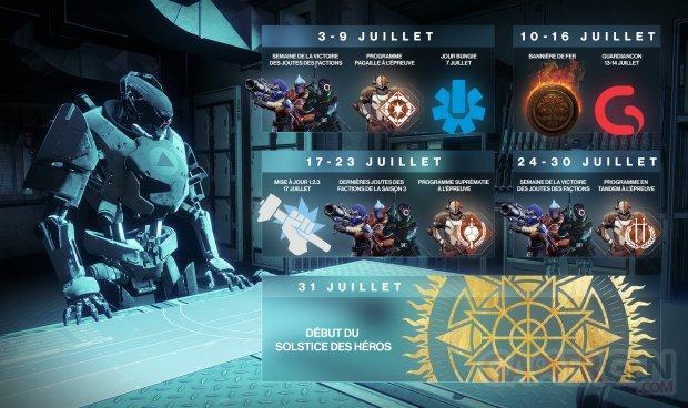 Destiny 2 planning juillet 29 06 2018