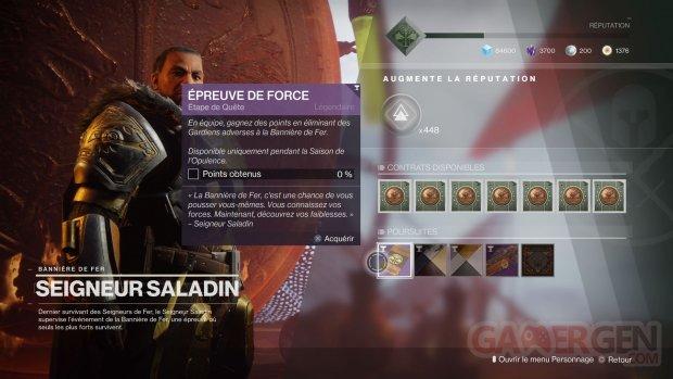 Destiny 2 Renégats Bannière de Fer 06 24 06 2019