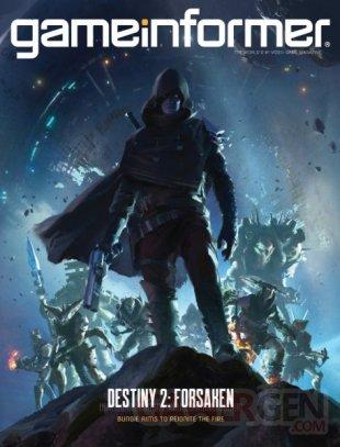 Destiny 2 Renégats couverture Game Informer 03 07 2018