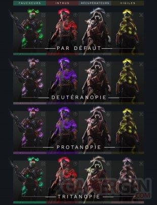 Destiny 2 Renégats Gambit Prestige daltonisme 02 03 2019