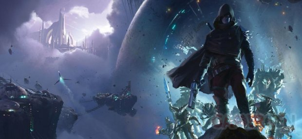 Destiny 2 Renégats illustration Game Informer 03 07 2018