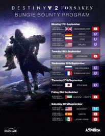 Destiny 2 Renégats planning contrat 14 09 2018