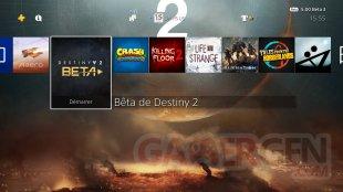 Destiny 2 thème dynamique gratuit Countdown to Launch PS4 5