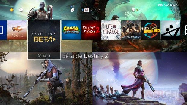 Destiny 2 thème dynamique gratuit Countdown to Launch PS4 7