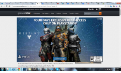 destiny early access Playstation four days