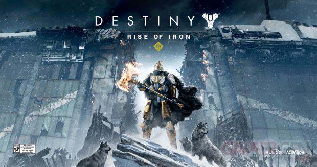 Destiny Rise of Iron Les Seigneurs de Fer artwork