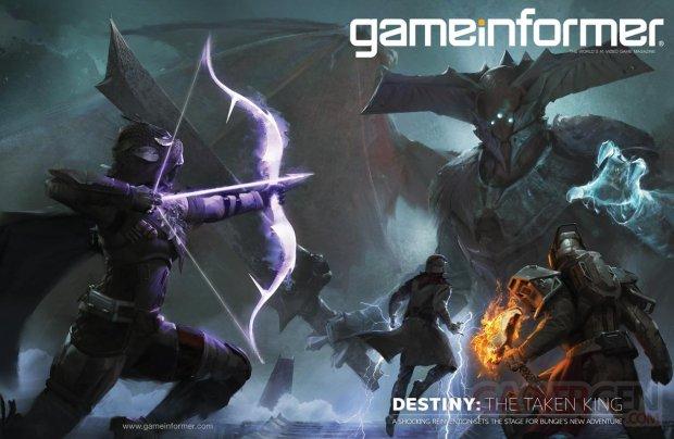 Destiny The Taken King Le Roi des Corrompus 04 08 2015 cover GameInformer