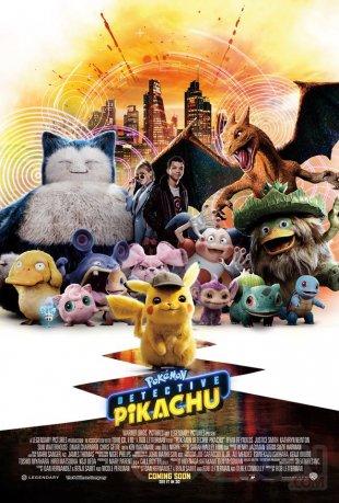 Détective Pikachu poster 23 04 2019