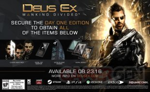 Deus Ex Mankind Divided 28 04 2016 édition 1