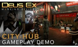 Deus Ex Mankind Divided City Hub head