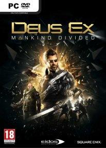 Deus Ex Mankind Divided jaquette PC