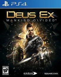 Deus Ex Mankind Divided jaquette PS4.