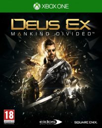 Deux Ex Mankind Divided jaquette Xbox One