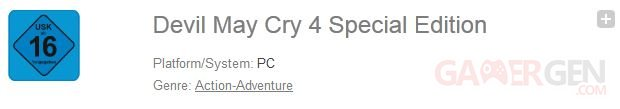 Devil May Cry Special Edition PC