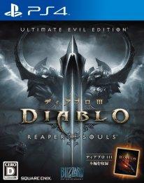 Diablo III Reaper of Souls jaquette jap