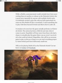Diablo III Switch leak 3