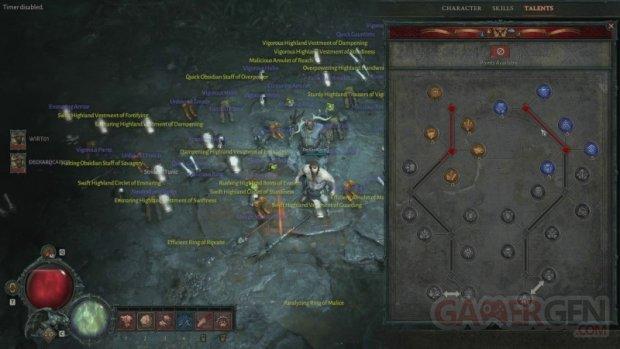 Diablo IV Druide arbre compétences 09 11 2019.