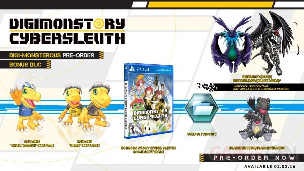 Digimon Story Cyber Sleuth Précommande