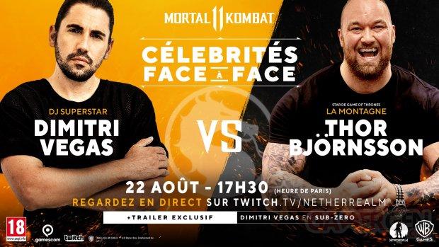 Dimitri Vegas La Montagne Mortal Kombat 11