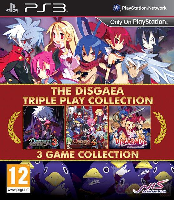 Disgaea Triple Play EU Collection Ann