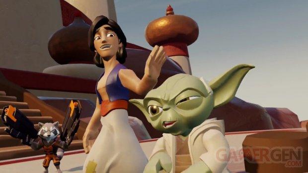 Disney Infinity 4 0 Kingdoms   Pre Alpha UFG Footage