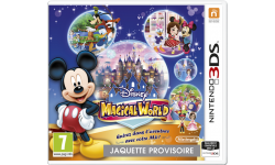 Disney Magical World jaquette euro