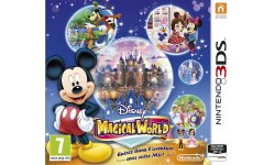 Disney magical World jaquette PEGI 3DS