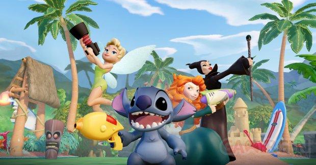 Disney Marvel Super Heroes 2 0 Stitch Clochette Merida Maléfique screenshot