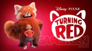 Disney Pixar Turning Red logo