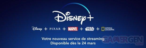 Disney+ Plus head banner logo