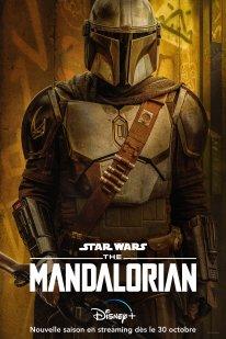 DISNEY+ The Mandalorian Saison 2 Affiche Poster 01