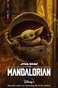 DISNEY+ The Mandalorian Saison 2 Affiche Poster 04