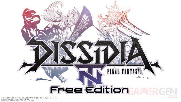 Dissidia Final Fantasy NT Free Edition 28 02 2019