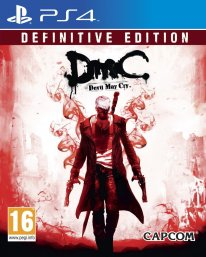 DmC Devil May Cry Definitive Edition jaquette