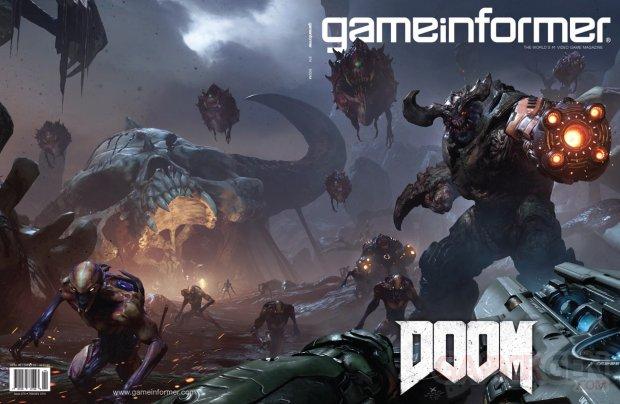 DOOM 06 01 2015 game informer cover